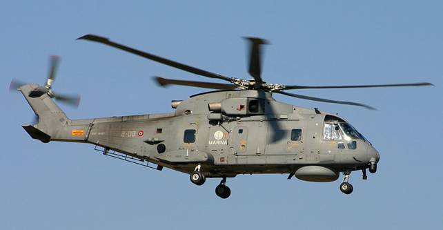 Elicottero Marina Militare : Marina militare interviene nelle pelagie bloccate dal
