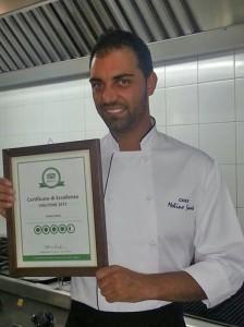 Nella foto lo chef Santo Molino di Avola