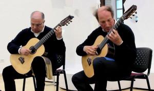 Da sinistra i maestri: Massimo Agostinelli e Andrea Zampini