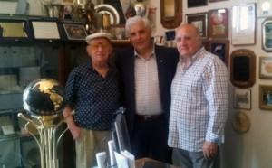 da sinistra: avv. Azzia, prof. Carmelo Macaluso