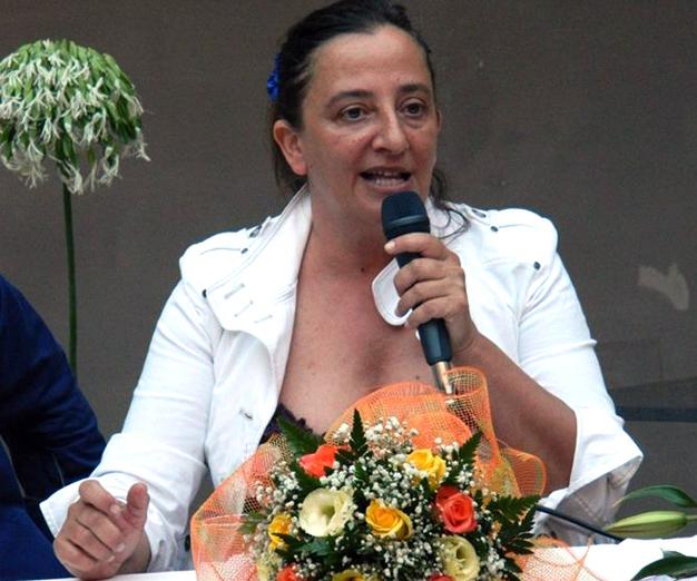 Nella foto Susanna Basile scrittrice e psico-sessuologa