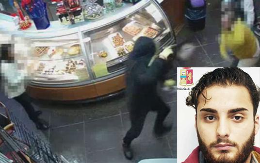 Rapinatore spara nel bar della Stazione a Vittoria: illesi clienti e bambini