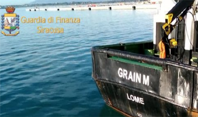 Siracusa, fermata nave con gasolio contrabbando Centomila litri senza documenti sulla provenienza