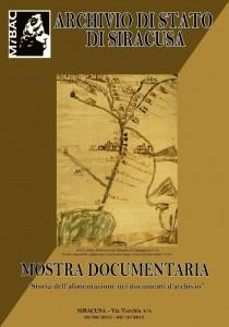 mostra_documentaria_alimentazione_archivio_di_stato_siracusa