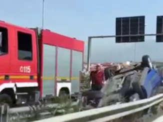 incidente_tangenziale_ct_auto_si_ribalta