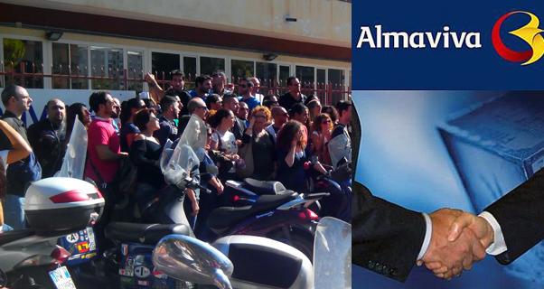 almaviva_protesta_sede
