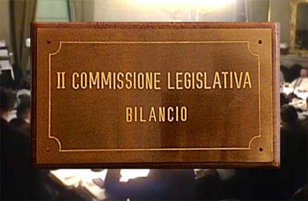 Commissione Bilancio approva finanziaria