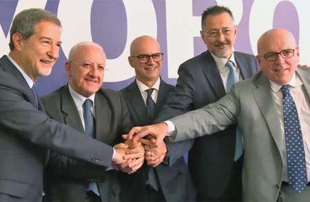 Presidenti di regioni del sud propongono patto per il lavoro