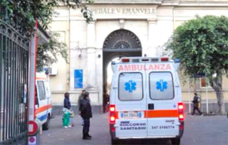 Vigilante aggredito al Vittorio Emanuele di Catania