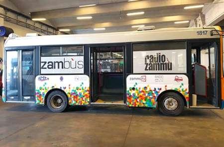 Radio Zammù in autobus