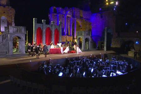 Rigoletto, cascata di applausi al Teatro Antico di Taormina