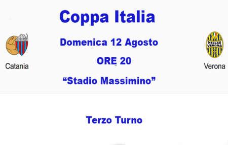 Verso la partita Catania–Verona