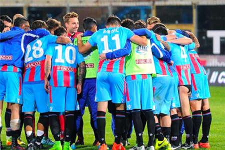 Catania da serie B, 2-0 contro il Verona