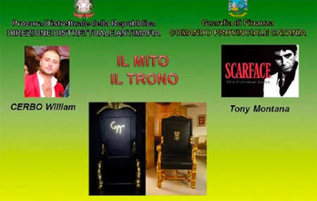 Mafia, sequestrati 32 milioni allo 'Scarface' catanese