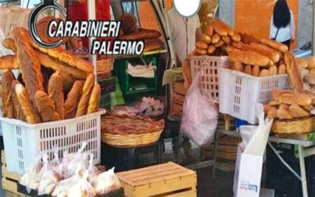 Pane abusivo a Palermo, 9 persone denunciate