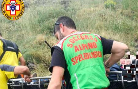 Etna, soccorso alpino salva escursionisti bloccati
