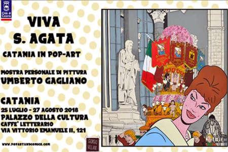 Catania in pop art, Viva Sant'Agata al Palazzo della Cultura