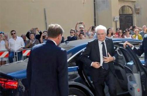 Presidente della Repubblica si reca a Siracusa