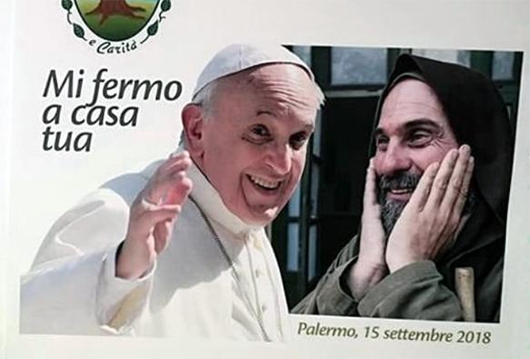 Visita di Francesco diventa social.