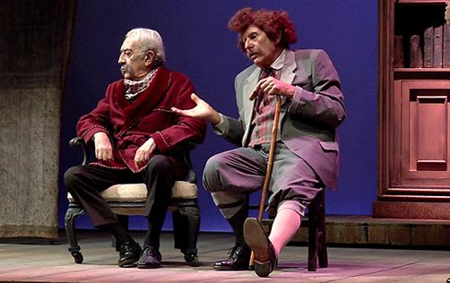 Applausi al Brancati per 'Filippo Mancuso e Don Lollò' – Interviste