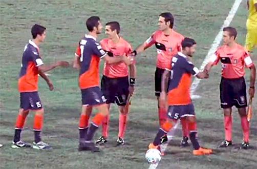 Catania beffata all'ultimo dalla Casertana, 1-1