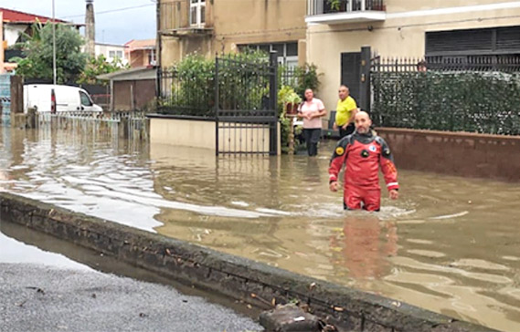Alluvione, Catania riparte e conta i danni