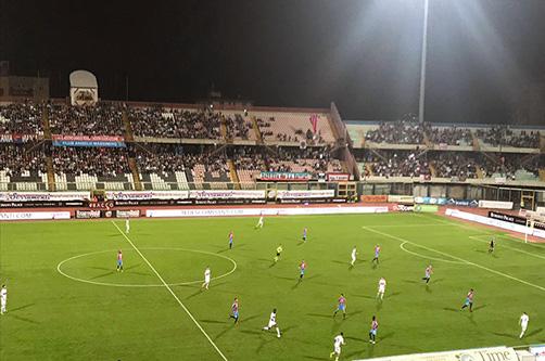 Catania, tre goal alla Vibonese