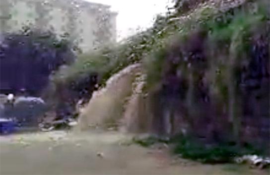 Notte di pioggia e allagamenti in Sicilia