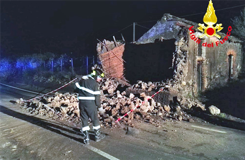Terremoto nel catanese