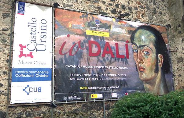 Io Dalì, mostra inaugurata al Castello Ursino - Interviste