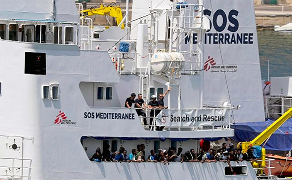 Navi Ong, scaricavano Rifiuti speciali a rischio infettivo
