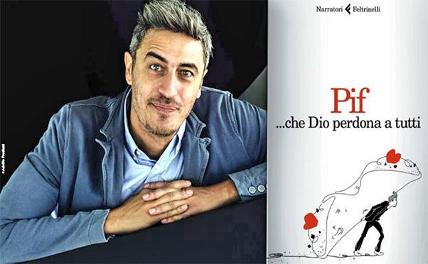 Libreria Prampolini, Pif presenta il suo libro