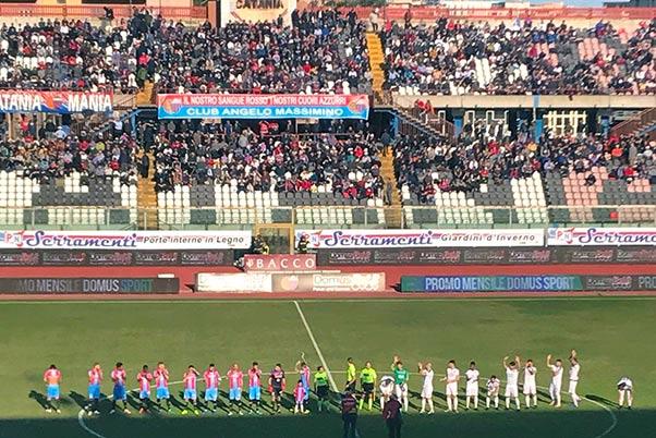 Catania Cavese 5-0: dominio rossoazzurro