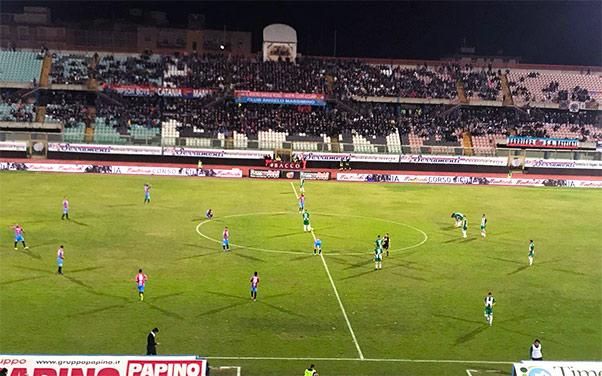 Catania-Monopoli 2-0: i rossoazzurri chiudono in bellezza