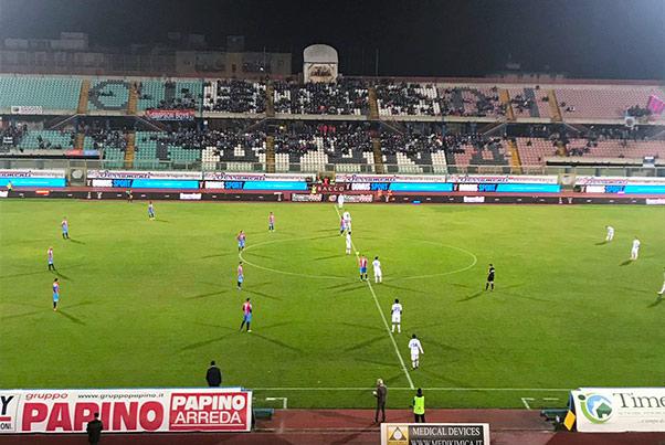Catania contro il Francavilla la spunta all'ultimo