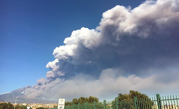 Etna, Catania scossa da 4.3