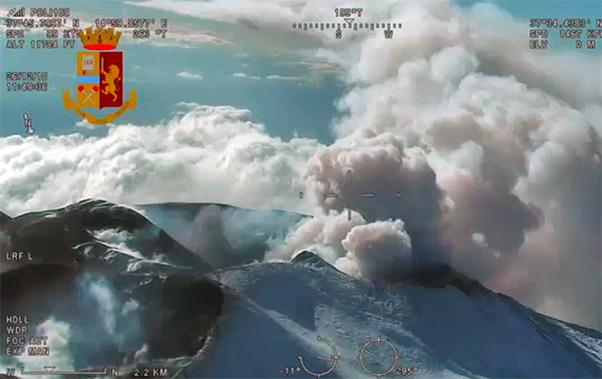 Etna, registrate solo 10 lievi scosse
