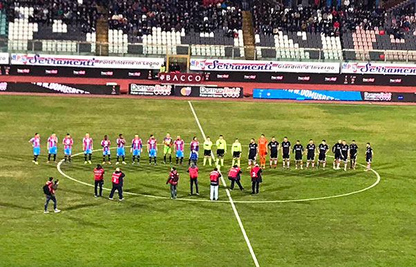 Catania-Rende 1-0, segna Di Piazza
