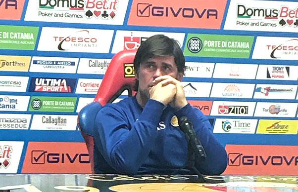 Calcio Catania, esonerato Andrea Sottil