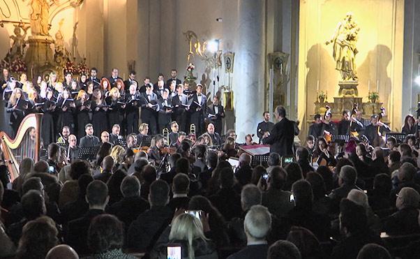 Concerto alla Badia, Marco Frisina omaggia S. Agata