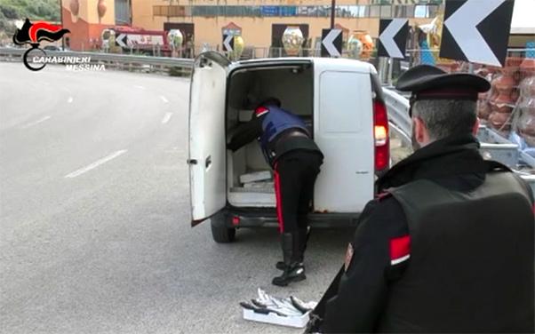 Rapina a commerciante di Mistretta, arrestati