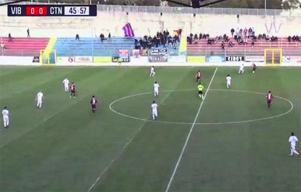 Vibonese-Catania 0-0, equilibrio e imbattibilità