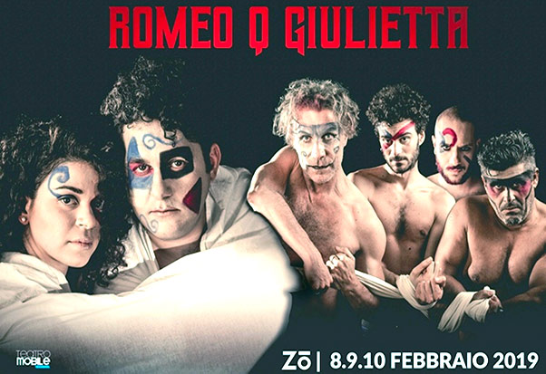 Teatro Mobile Catania, in scena 'Romeo Q Giulietta'