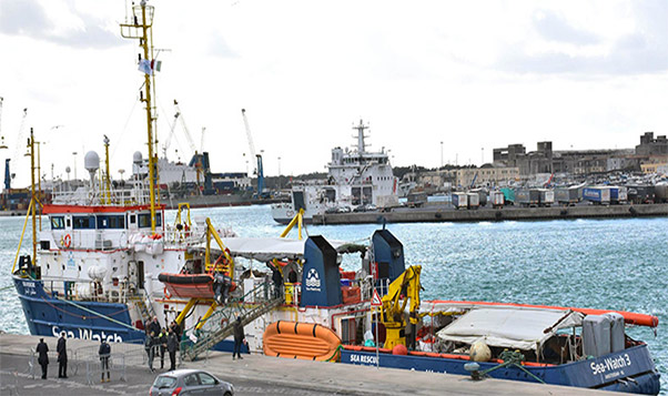 Sea Watch, procura apre inchiesta