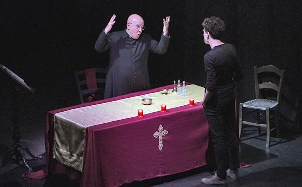 Concetto al buio debutta al Teatro Mobile - interviste