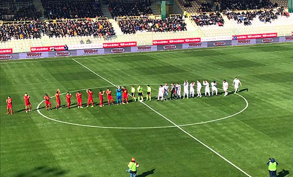Catanzaro-Catania 1-2, prima vittoria fuori casa dell'anno