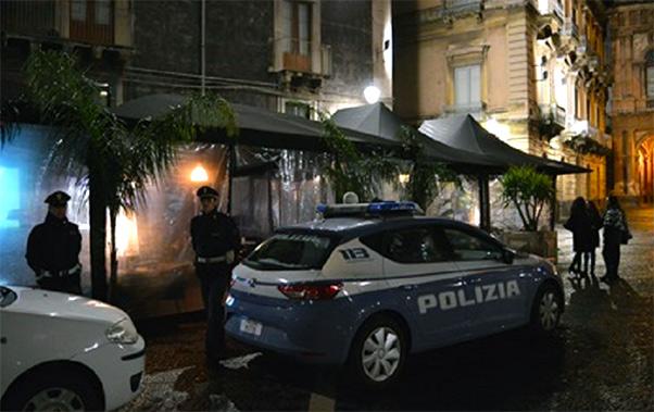 Accoltellamento in piazza Bellini a Catania