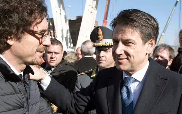 Conte e Toninelli in Sicilia per sbloccare cantieri Statale AG-CL