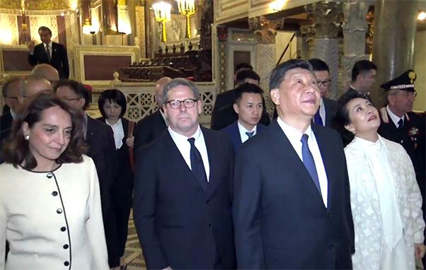 Xi Jinping lascia la Sicilia