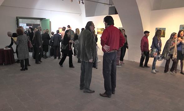 Inaugurata la mostra di Francesco Palmieri - Video